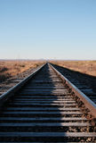 Railroad tracks Royalty Free Stock Photos
