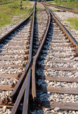 Railroad tracks Royalty Free Stock Images