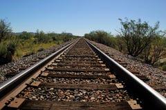 Railroad tracks Stock Images