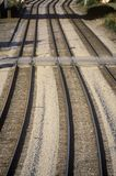 Railroad tracks in Chicago, Illinois Stock Photography