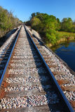 Railroad Tracks - Illinois Stock Photography