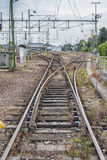 Railroad Tracks and Junctions Stock Images