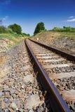 The railroad tracks Royalty Free Stock Photography