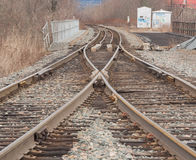 Railroad Tracks Royalty Free Stock Image