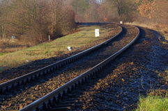 Railroad tracks. Stock Images