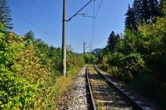 Railroad tracks. Royalty Free Stock Photography