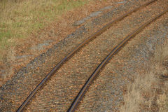 Railroad tracks Royalty Free Stock Image