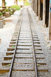 Railroad tracks. Royalty Free Stock Photos