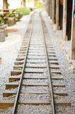 Railroad tracks. Royalty Free Stock Photos