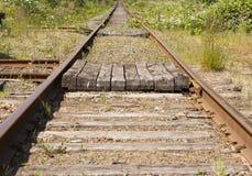 Railroad Tracks To Infinity Royalty Free Stock Photo