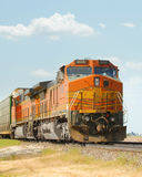 Railroad train Royalty Free Stock Image
