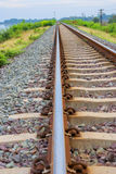 Railroad for train in Thailand Stock Image