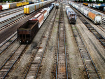 Railroad Transportation Tracks Stock Photos