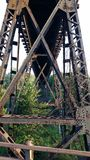 Railroad tressel Royalty Free Stock Image