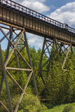 Railroad Trestle Royalty Free Stock Photos