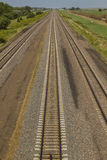 Railroad Triple Track Mainline Stock Photo