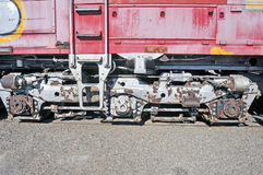 Railroad Trucks Royalty Free Stock Image