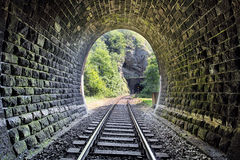 Railroad Tunnel - Harmanec, Slovakia Royalty Free Stock Photography