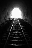 Railroad tunnel. Royalty Free Stock Photos