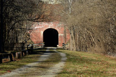 Railroad tunnel Royalty Free Stock Photography