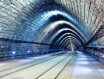 Railroad tunnel Royalty Free Stock Image