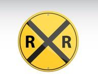 Railroad vector crossing traffic Stock Photo