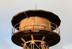 Railroad water tower royalty free stock images