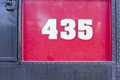 Railroading en canyon espagnol de fourchette Photographie stock libre de droits