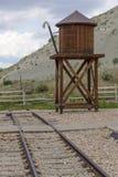 Railroading en canyon espagnol de fourchette Image libre de droits