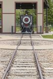 Railroading in Spanish Fork Canyon Royalty Free Stock Photo