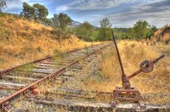 Railroads changer Royalty Free Stock Photo