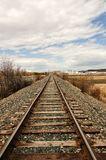 Railroads and Industry Royalty Free Stock Image