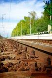 Rails Royalty Free Stock Image