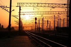 Rails Royalty Free Stock Photo
