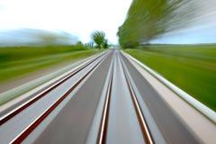 Rails blur Stock Images
