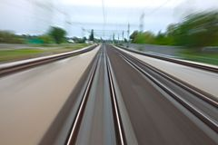 Rails blur Stock Photos