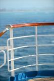 Rails de bateau de croisière Photo libre de droits