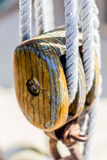 Rails de voilier Photo stock