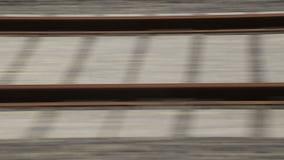 Rails. Detail from Turkey TCDD stock video