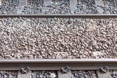 Rails en métal Photo stock