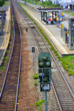 Rails in Germany Royalty Free Stock Photo