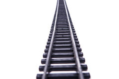 Rails isolated Royalty Free Stock Images