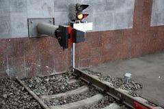 rails järnväg sleepers Arkivbilder