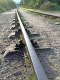 Rails out of order Stock Photo