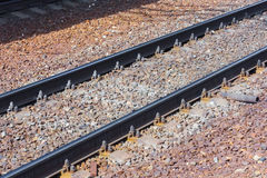 Rails Royalty Free Stock Photos