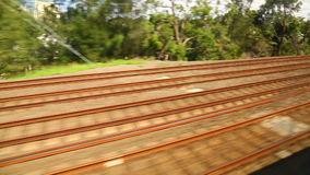 Rails stock footage