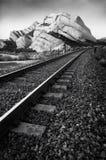 Rails & rocks Stock Photos
