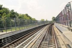 Rails Royalty Free Stock Images