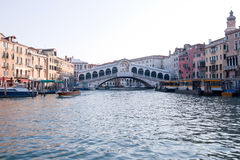 Railto Bridge Venice Stock Photo