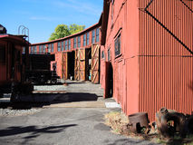 Railtown roundhouse Royalty Free Stock Photo
